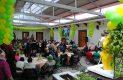 Varios fieles sanjuanenses se reunieron en la Casa de Oración de los Josefinos, para festejar al P. Panchito.