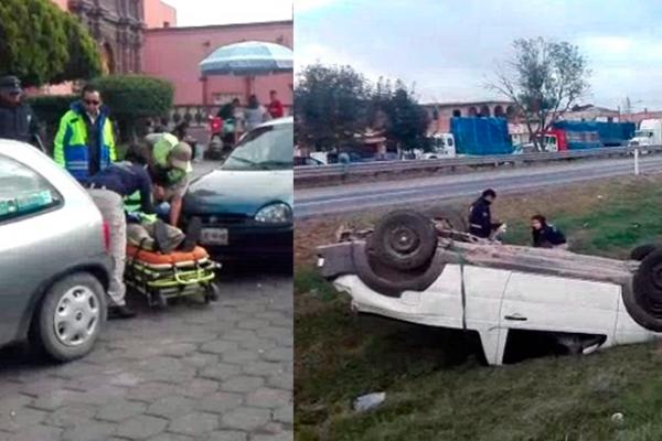 Mañana accidentada en San Juan del Río