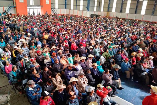 Antorchistas realizaron conferencia regional