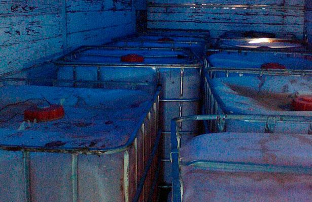 Aseguran hidrocarburo y toma clandestina