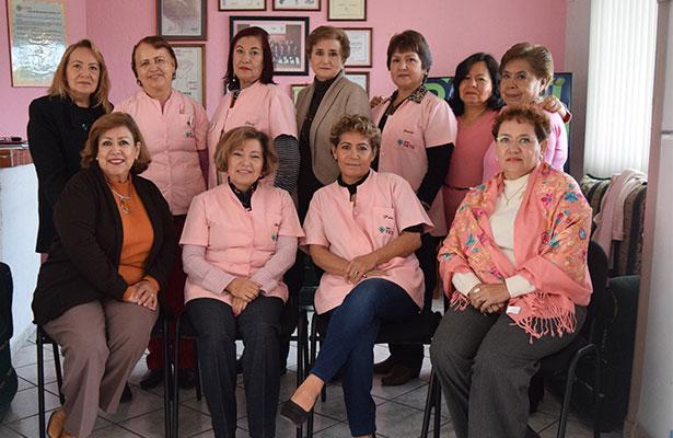 ACTUALMENTE, esta agrupación cuenta con 14 damas voluntarias quienes realizan actividades de prevención en escuelas y sectores productivos. Foto: Jacob Cabello