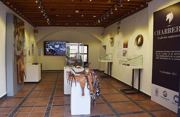 """Concluye expo """"Charrería: tradición sanjuanense"""""""