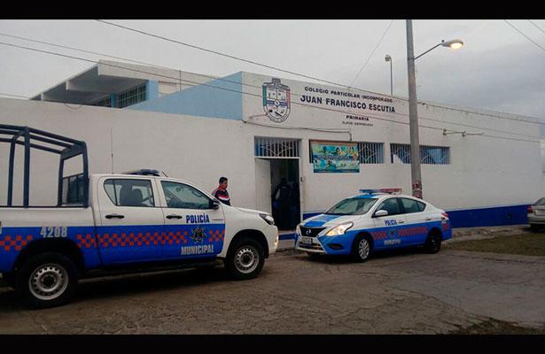 Ladrones saquearon escuela particular