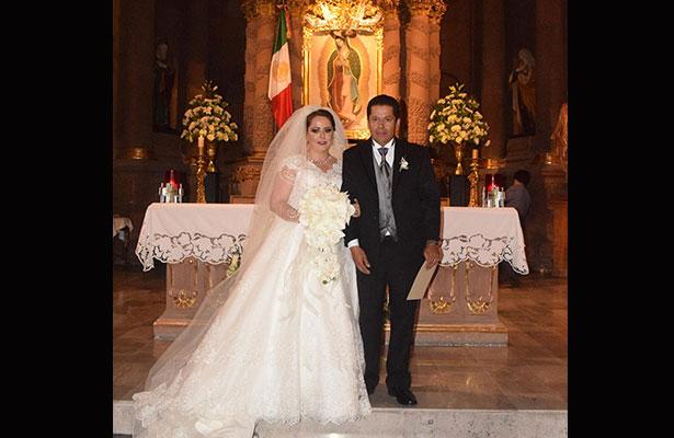 Nupcias de Mireya Nieto y Jaime Yáñez