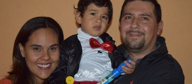 Juan Héctor cumplió 2 años de vida