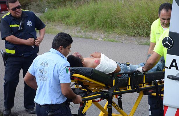 Conductor de pipa gasera impactó a ciclista