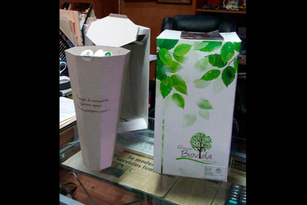 Funerarios promueven uso de urnas ecológicas