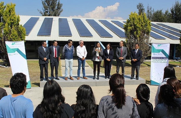 Al 85% obra de energía renovable en UTSJR