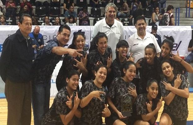 Selección de SJR tercer lugar nacional en basquetbol