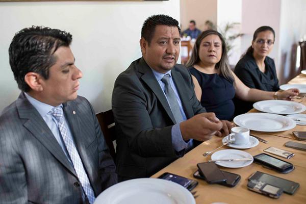 Presentan nuevo presidente de Abogados Litigantes