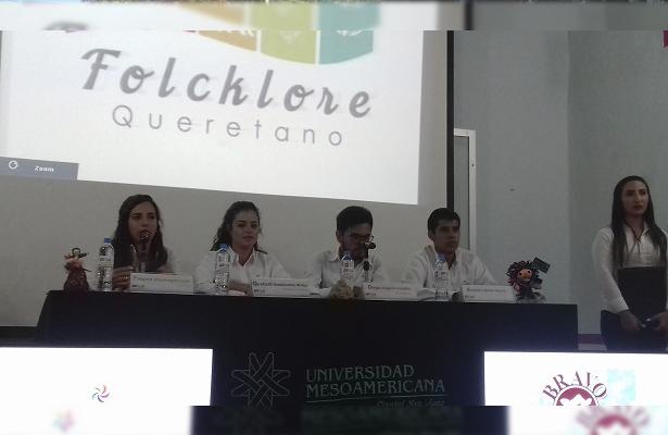 """""""Folklore Queretano"""", proyecto de estudiantes universitarios"""