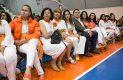 ALGUNAS integrantes de Cefim, organizadoras del sexto congreso para la mujer. Foto: Víctor Jiménez.