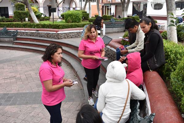 Brigada contra violencia en Pedro Escobedo
