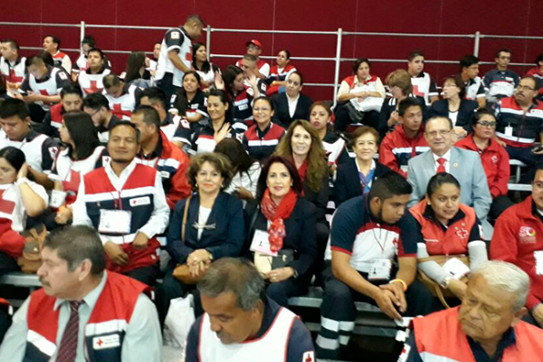 Cruz Roja participa en la Convención Nacional