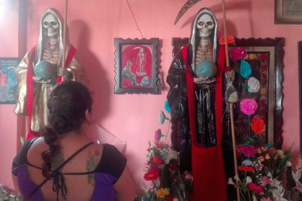 Celebran a la Santísima Muerte en San Juan