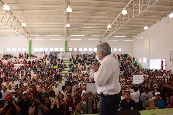 Lopez Obrador asegura que lleva ventaja
