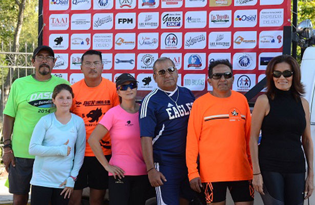 Club de Atletismo Linces de SJR partió a Mazatlán