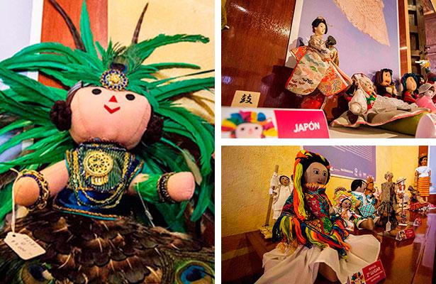 Premian a ganadores de concurso de muñecas
