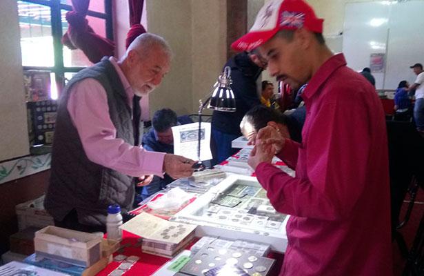 Exposición de numismática en San Juan
