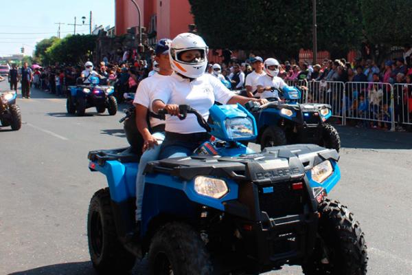 Nuevos policías formarán agrupación motorizada