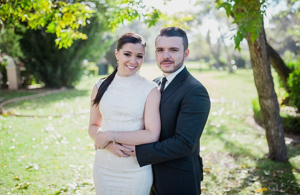 Antonio y Laura oficialmente marido y mujer