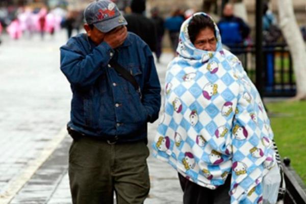 Sierra duranguense registra hasta 10 grados bajo cero