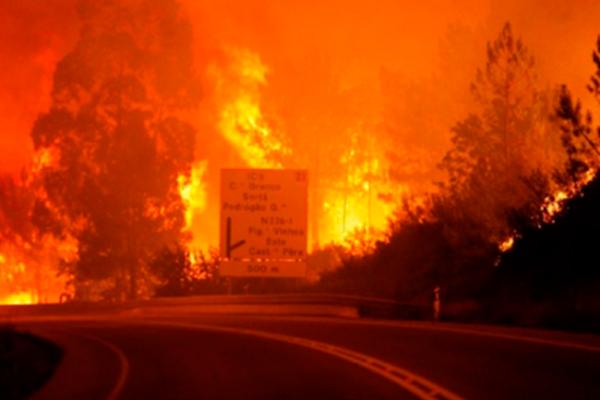 Incendios fuera de control causan destrucción y desalojos en California