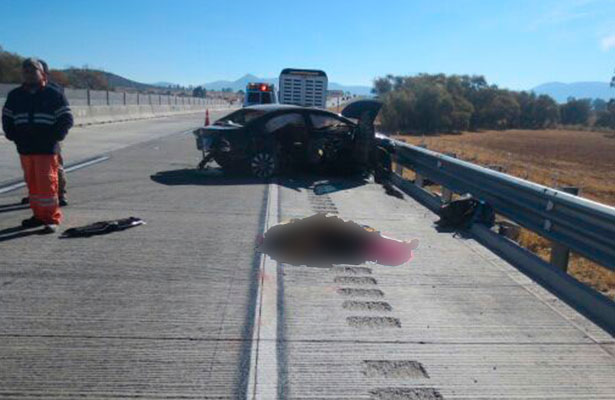 Fatal accidente deja tres muertos