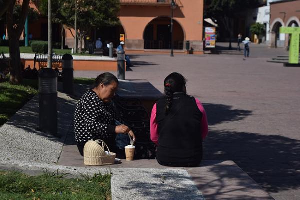 Mil personas vulnerables al frío en Tequisquiapan