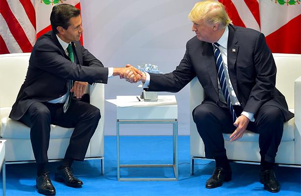 México tiene un presidente maravilloso, increíble, afirma Trump sobre Peña Nieto