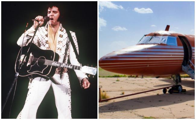 Jet de Elvis Presley es subastado luego de estar abandonado 35 años