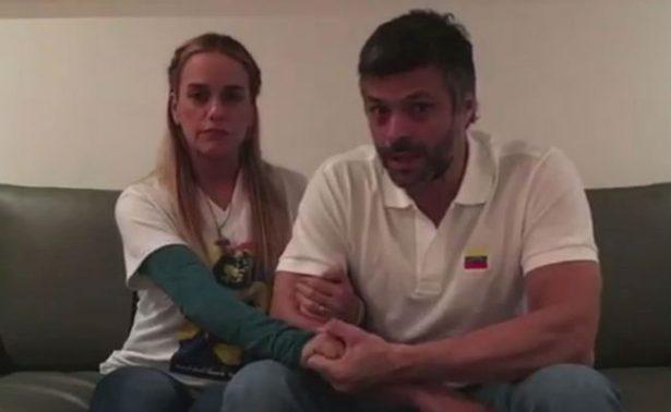 Prohíben a Leopoldo López transmitir información desde su arresto domiciliario
