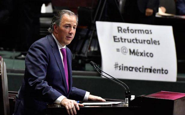 Ante sismos y huracanes, Hacienda ajustará el paquete económico: Meade