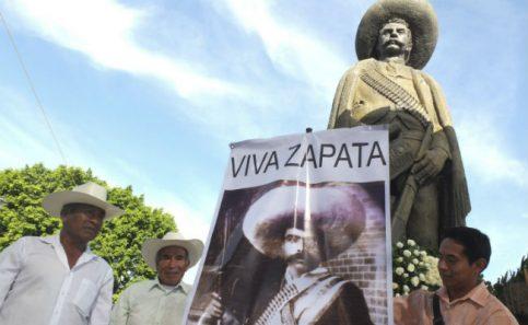 Descartan exhumar restos de Emiliano Zapata