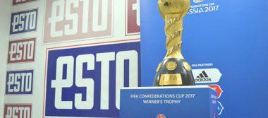 La Copa Confederaciones visita la redacción del ESTO