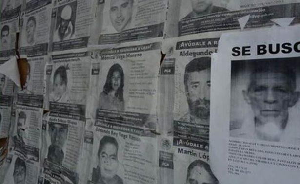 En Marzo, Comisión Estatal de personas desaparecidas