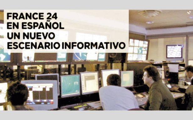 France 24 inicia su formato en español para México y AL