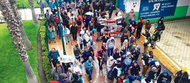 Desplazados por la violencia piden asilo