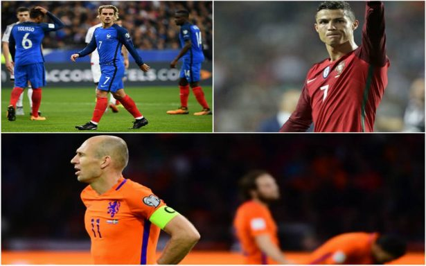Griezman y CR7 van al Mundial; Holanda eliminada