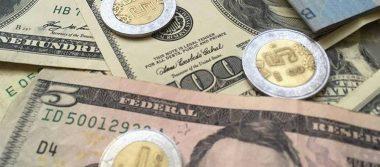 Dólar promedia 18.72 pesos a la venta en aeropuerto capitalino