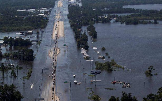 Sube a 46 la cifra de muertos por el huracán Harvey