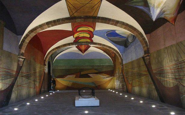 El mural inconcluso de Siqueiros, tesoro en San Miguel de Allende