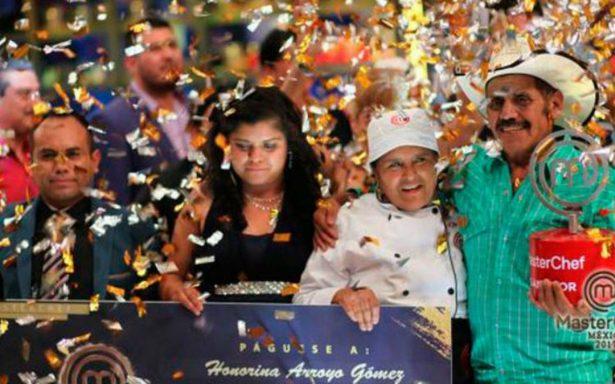 Honorina gana la gran final de MasterChef México 2017