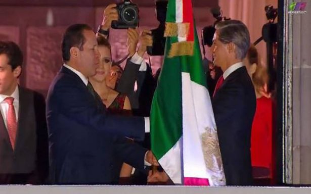 Eruviel Ávila y Del Mazo dan juntos el Grito de Independencia