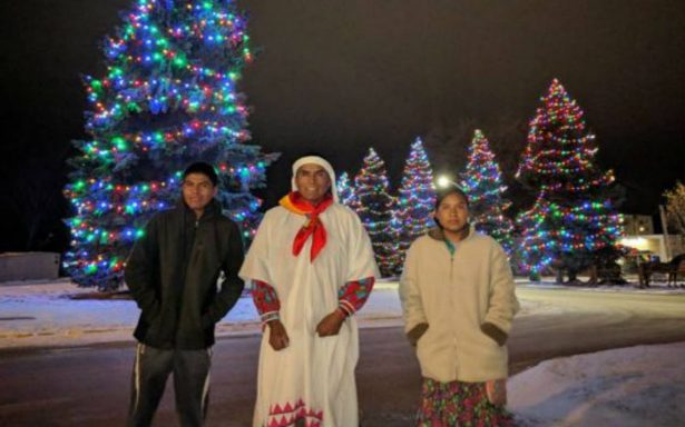 Corredores tarahumaras arrasan en  maratón Oso Polar en Canadá