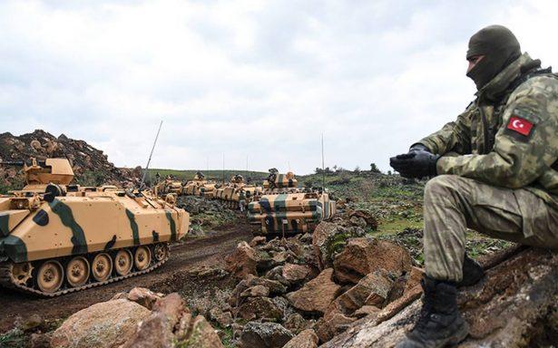 """EU pide a Turquía """"ejercer moderación"""" en sus operaciones militares en Siria"""