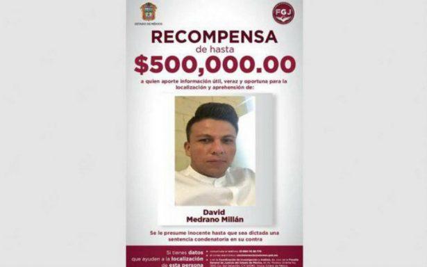 Fiscalía ofrece 500 mil pesos por información sobre homicida de familia de Tultepec