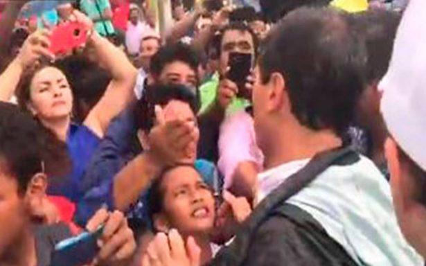 Peña Nieto recorre zonas afectadas de Chiapas tras temblor