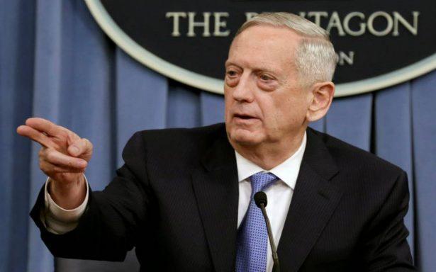 """Pentágono considera """"masiva respuesta militar"""" en caso de amenaza de Corea del Norte"""