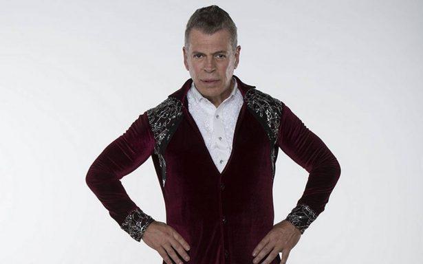 El actor Sergio Goyri participa en el reality musical Bailando por un sueño